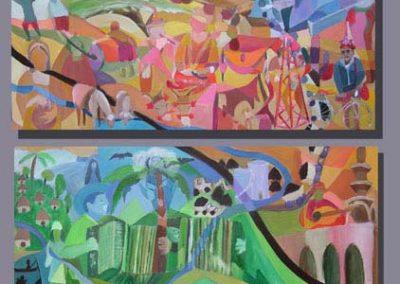 Esther_Cuellar_pintura_abstracta_14_Guajira_Sur_Y_Norte