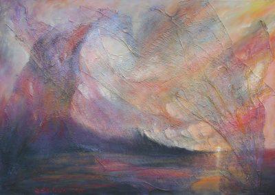 Esther_Cuellar_pintura_abstracta_Pequeño-Atardecer