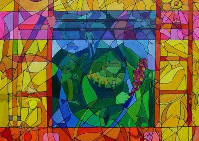 Esther_Cuellar_pintura_abstracta_12_Cultura_Paisa