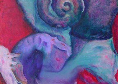 Esther_Cuellar_pintura_abstracta_Composicion_Caracoles_No_05