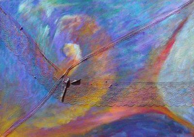 Esther_Cuellar_pintura_abstracta_Composicion_Caracoles_No_39