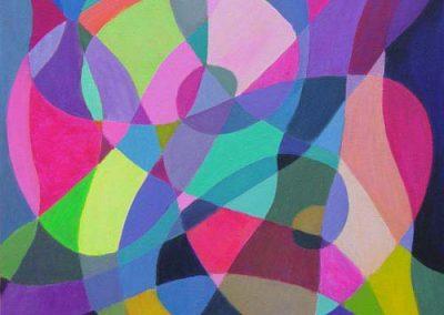 Esther_Cuellar_pintura_abstracta_Symphony_in-Pink
