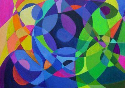 Esther_Cuellar_pintura_abstracta_Symphony_in_Purple