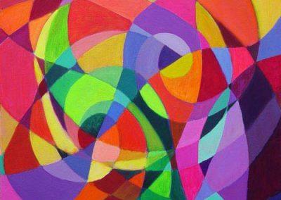 Esther_Cuellar_pintura_abstracta_Symphony_in_Red