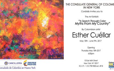 """Exhibition opening: """"A Search Through Color: Myths from my Country"""""""